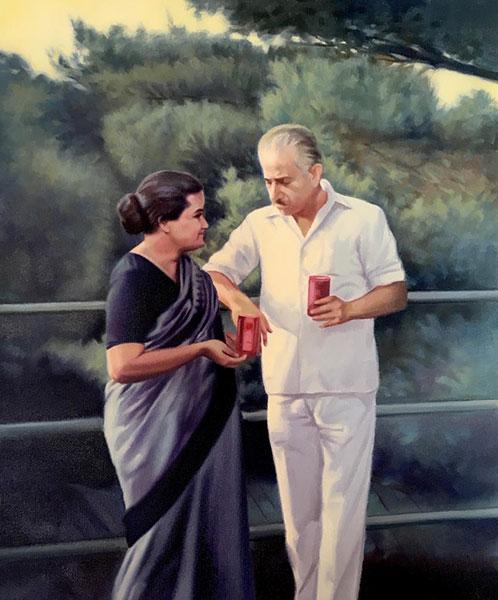 Gurudev and Mataji